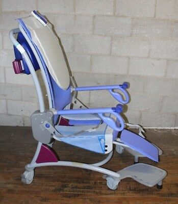 Used Arjo Carino Motorized Patient Lift Shower Chair
