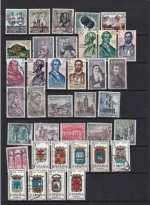 Spain - Attractive Run of Pictorial Stamps  3 SCANS (0544)