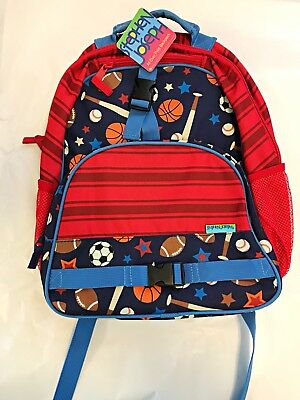 Stephen Joseph All Over Print Sports Backpack School Bag Large Boy Bag