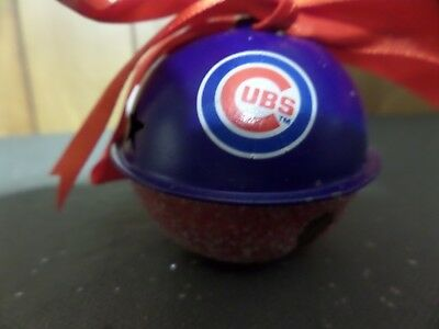 Chicago Cubs Christmas ornament Bell