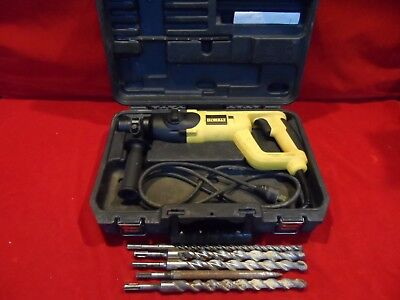 DeWalt D25023 SDS Rotary Hammer Drill with 5 Bits & Case