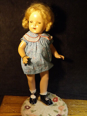 Vintage 1930's Effanbee Mary Lee 16: Composition Doll