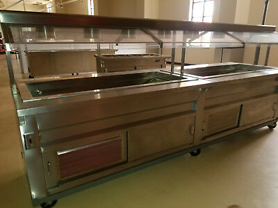 Buffet Food Hot/Cold Steam Table