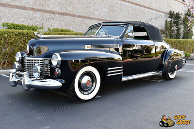 1941 Cadillac Series 62 Deluxe Convertible Coupe 1941 Cadillac Deluxe Convertible Coupe CCCA Senior/Premier/1st & AACA 1st/Senior