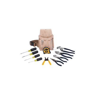 Ideal 35-5805 Dipped-Grip Tool Set, 12-Piece