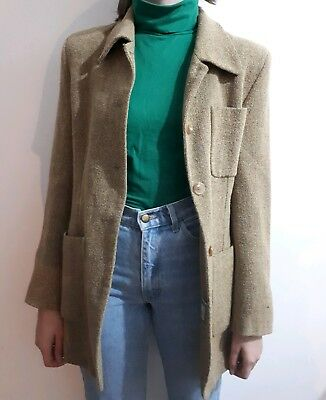 Vintage Womans Burberry Jacket Size 10/12