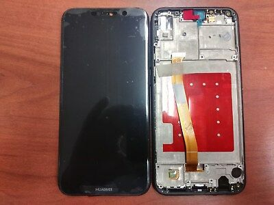 HUAWEI P20 Lite NERO  - DISPLAY LCD+TOUCH con FRAME  ORIGINALE