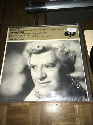 Faure Ballade For Piano And Orchester LP Kathleen Long 2094
