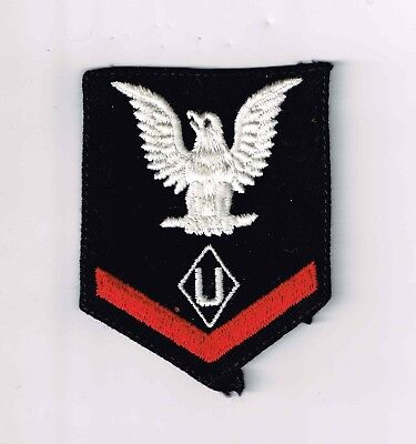 """US Navy WAVES 1/c Rating, """"U"""" (Utility/Motion Picture Service), ec"""