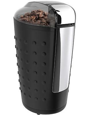 Electric Coffee and Spice Grinder 150W Stainless Steel Blades Herbs Nuts Pepper