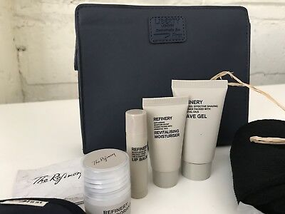 BRITISH AIRWAYS Liberty London FIRST CLASS Men's Blue Airline Amenity Kit NEW