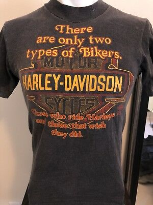 VTG 1990's Harley Davidson For Bikers Only Tee-S