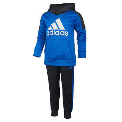 Adidas Boys' 2-piece Active Set - BLUE & BLACK (Select Size) * FAST SHIPPING *