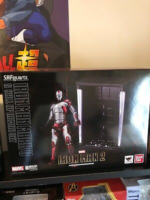 S.H. Figuarts Marvel Iron Man Mark V Figure NO HALL OF ARMOR