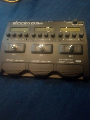 Zoom G3n Guitar Multieffects Pedal