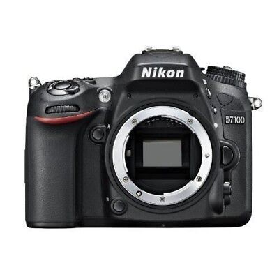 USED Nikon D D7100 24.1MP Digital SLR Camera - Black Excellent FREESHIPPING
