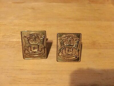 Old Michigan State Police Cuff links?