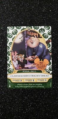 Disney Sorcerers of the Magic Kingdom Holiday card 09/P: Clawhauser
