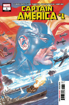 Captain America #1 (Lgy #705) - 1St Print - Bagged & Boarded. Free Uk P+P
