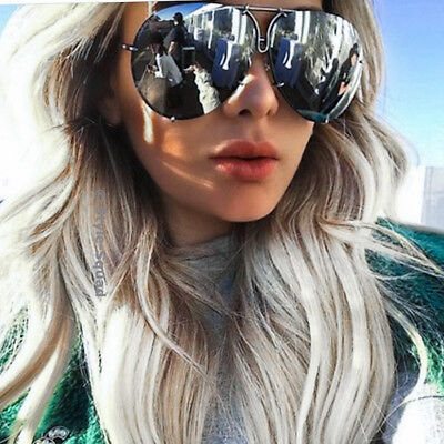 6d2e3db70b Oversized XL Metal Wire Aviator Retro Fashion Porshe Large Women Sunglasses  4163