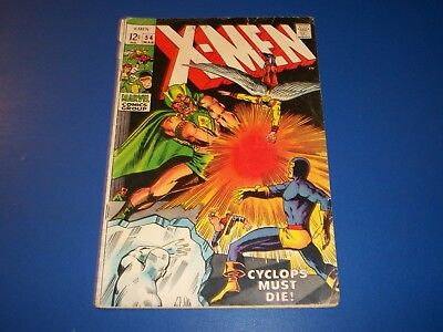 Uncanny X-men #54 Silver Age Comic Wow 1st Alex Summers Key GVG