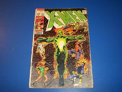 Uncanny X-men #55 Silver Age Barry Smith 1st Havok Key Wow Good