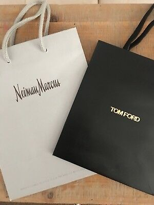 Neiman Marcus And Tom Ford Small Paper Shopping Bags