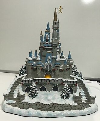 Disney Village Light Up Cinderelal Christmas Castle