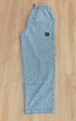 NWOT CHEF REVIVAL Chef Pants Houndstooth Unisex XL P020HT Baggy Fit RN# 96152