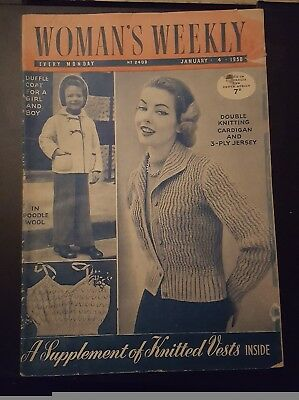 1958 English Womans Weekly Jan 4