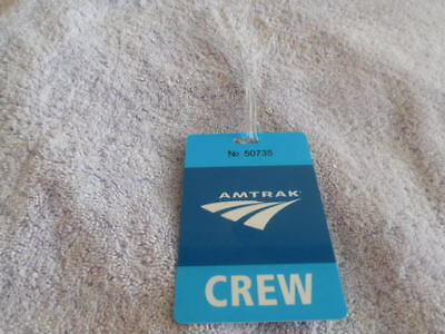 Railroad - Amtrak - Crew Luggage Tag - Marked