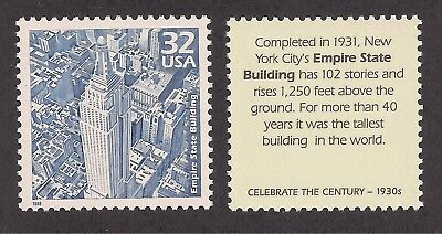 Empire State Building - New York City 1931 - U.s. Postage Stamp - Mint Condition