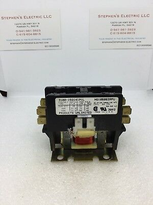 Products Unlimited 3100-15Q14191L 24V Contactor