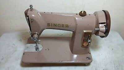 Heavy Duty Singer 185K Sewing Machine, sews Leather, Serviced
