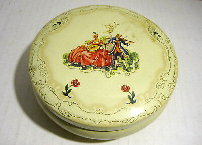 Vintage Daher Makeup Tin. Made In England