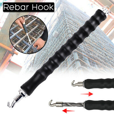 Rebar Tie Wire Twister Automatic Concrete Metal Wire Twisting Fence Tool 300mm