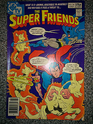 The Super Friends (DC Comics) #34 dated July 1980