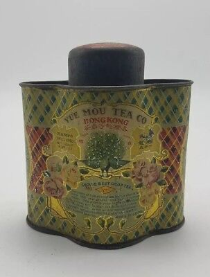 Vintage (Yue Mou Co.) Choice Best Crop Tea Chinese Tin