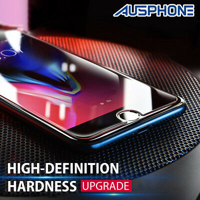 2X Anti Scratch 9H Tempered Glass Screen Protector Guard For Apple iPhone 8 Plus