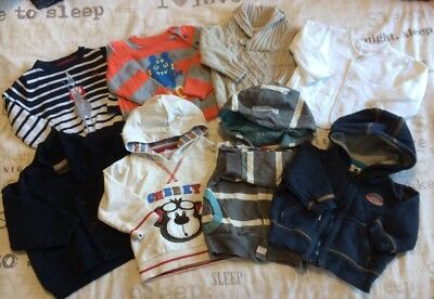 Boys Jumpers & Hoodies Bundle 3-6 Months Next Joules Monsoon Notting Hill F&F +