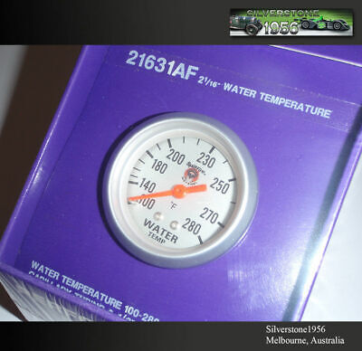 silver face Splitfire 25831AF 100-280F 67mm mech water temperature gauge