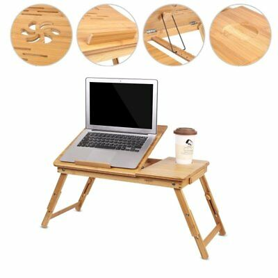Portable laptop notebook desk lazy table stand tray on bed sofa adjustable table