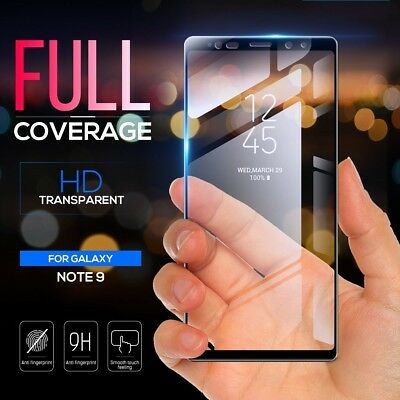 Full Cover Tempered Glass Screen Protector for Samsung Galaxy S8/S9 Plus Note 9