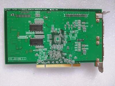 1pc Used FAST FVC06-1P-900212 TEC-1VM capture card tested