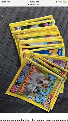 national geographic kids magazines x25