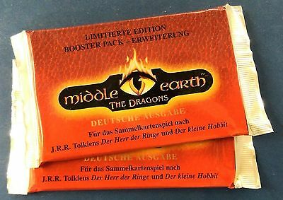 TCG Middle Earth The Dragons Booster Lord of the Rings - Herr der Ringe deutsch