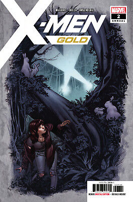 X-Men Gold Annual #2 Marvel - 1St Print -  Bagged And Boarded. Free Uk P+P!