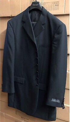 """New Men's 7 Buttons Suit 100% Polyester ,38"""" Length 904P"""