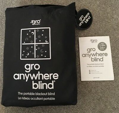The Gro Company - Gro Anywhere Blackout Blind. Stars And Moon Design