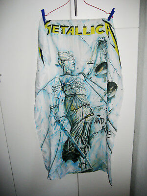 "Metallica - Fahne, Posterfahne, Flagge ""...and justice for all"""